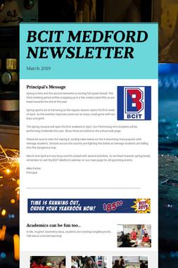 BCIT MEDFORD NEWSLETTER