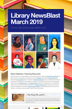 Library NewsBlast March  2019