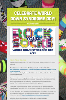 Celebrate World Down Syndrome Day!