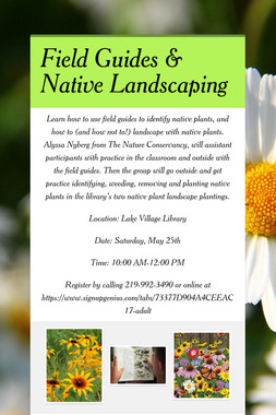 Field Guides & Native Landscaping