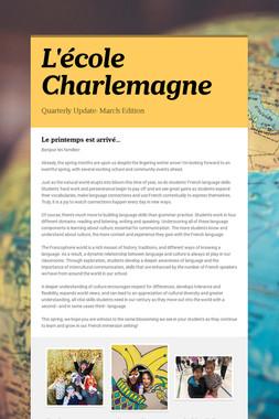 L'école Charlemagne