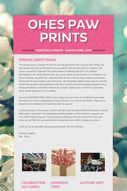 OHES Paw Prints
