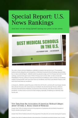 Special Report: U.S. News Rankings