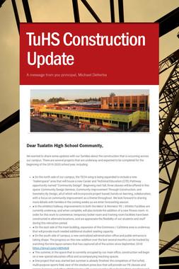 TuHS Construction Update