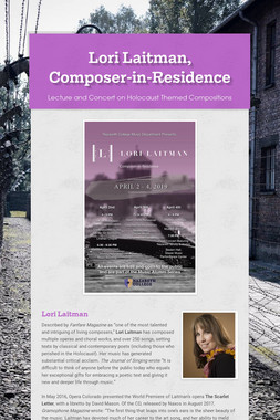 Lori Laitman, Composer-in-Residence