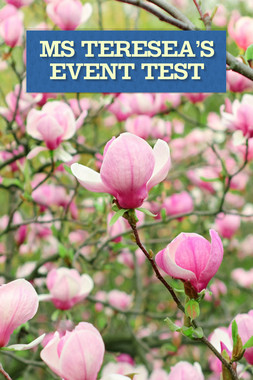 Ms Teresea's Event TEST