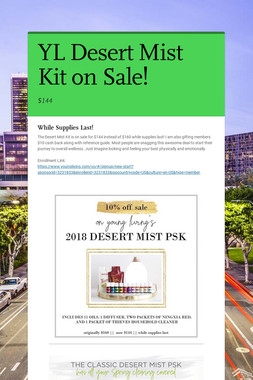 YL Desert Mist Kit on Sale!