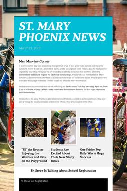 ST. MARY PHOENIX NEWS