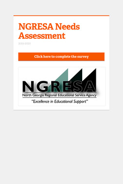 NGRESA Needs Assessment