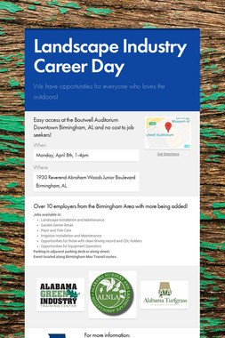 Landscape Industry Career Day