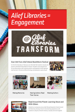 Alief Libraries = Engagement