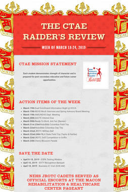 The CTAE Raider's Review