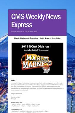 CMS Weekly News Express