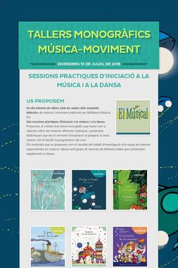 Tallers Monogràfics música-moviment