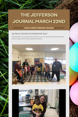 The Jefferson Journal March 22nd