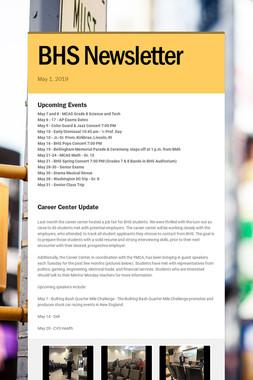 BHS Newsletter