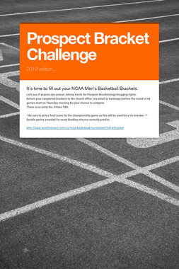 Prospect Bracket Challenge
