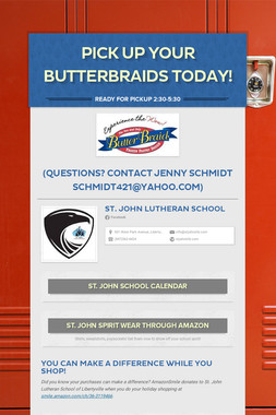 Pick Up Your ButterBraids Today!