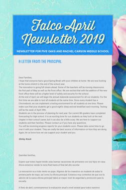 Falco April Newsletter  2019