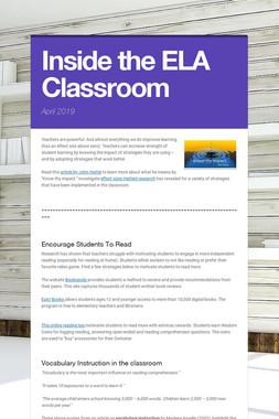Inside the ELA Classroom
