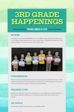 3rd Grade Happenings