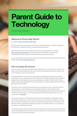 Parent Guide to Technology