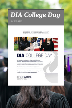 DIA College Day