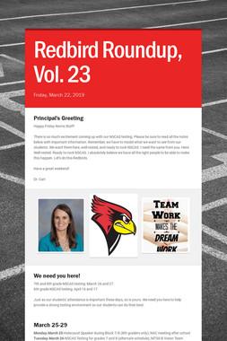 Redbird Roundup, Vol. 23