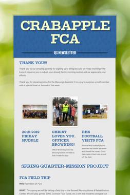 Crabapple FCA