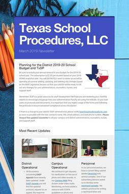 Texas School Procedures, LLC