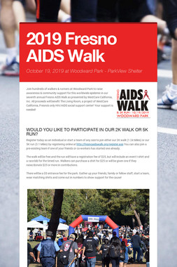 2019 Fresno AIDS Walk