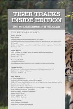 Tiger Tracks Inside Edition
