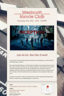 _____Westcott_____ Movie Club