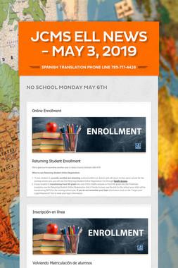 JCMS ELL News - May 3, 2019