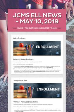 JCMS ELL News - May 10, 2019