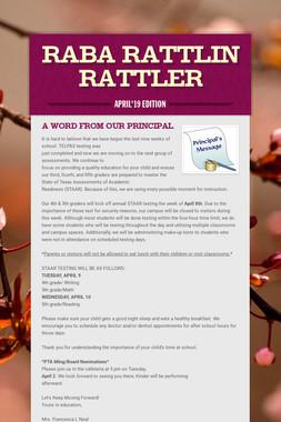 Raba Rattlin Rattler