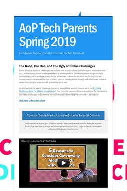 AoP Tech Parents Spring 2019