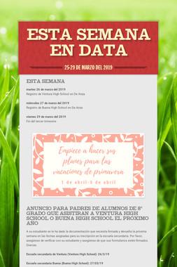 Esta Semana en DATA