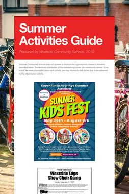 Summer Activities Guide