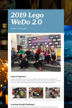2019 Lego WeDo 2.0