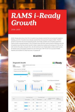 RAMS i-Ready Growth