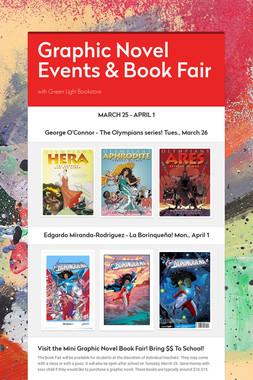 Graphic Novel Events & Book Fair