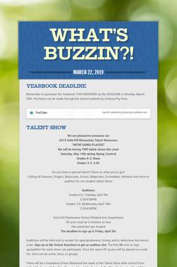 What's Buzzin?!
