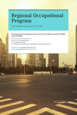 Regional Occupational Program