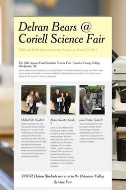 Delran Bears @ Coriell Science Fair