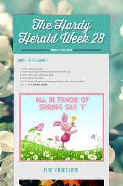 The Hardy Herald Week 28