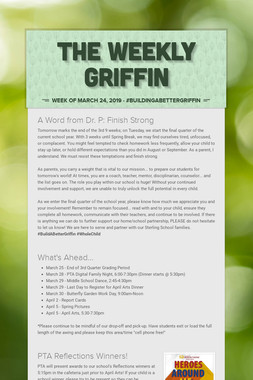 The Weekly Griffin