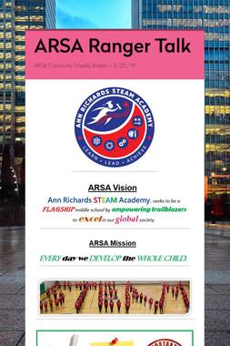 ARSA Ranger Talk