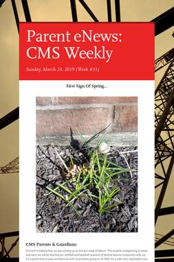 Parent eNews: CMS Weekly