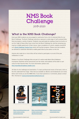 NMS Book Challenge